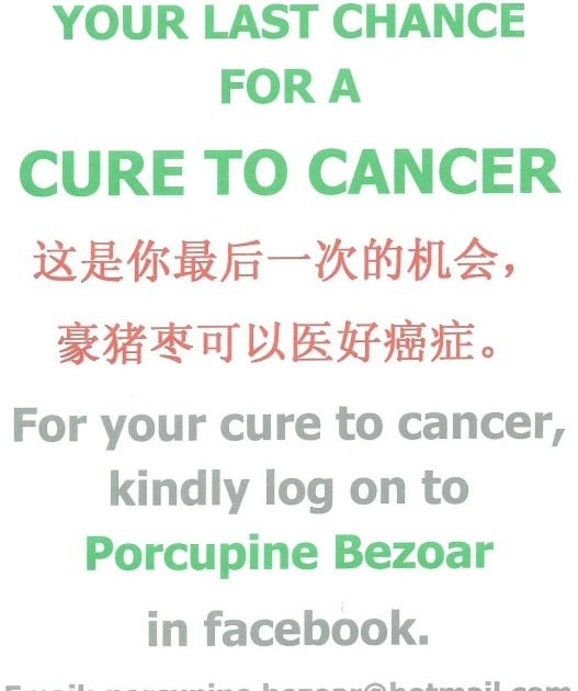 Cure for Cancer: Cure for Cancer