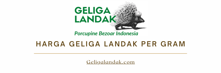 Harga Geliga Landak per Gram 2021